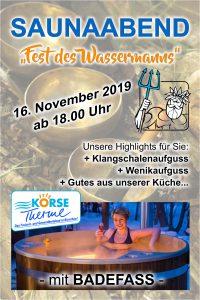 Plakat Fest des Wassermanns November 2019